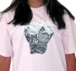tee shirt glove rose