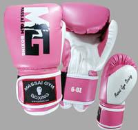 massai gants boxe rose